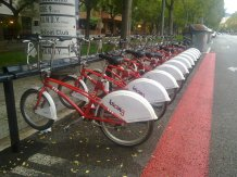 Moverse en bicing por Barcelona
